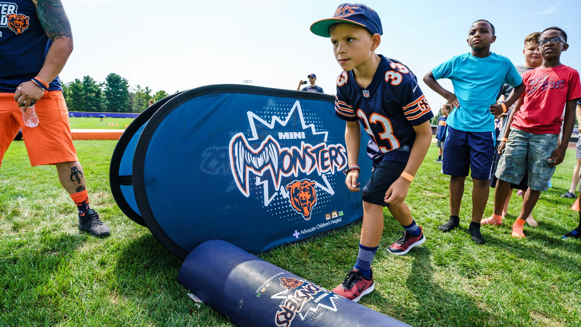Kids Club x Mini Monster Football Clinic