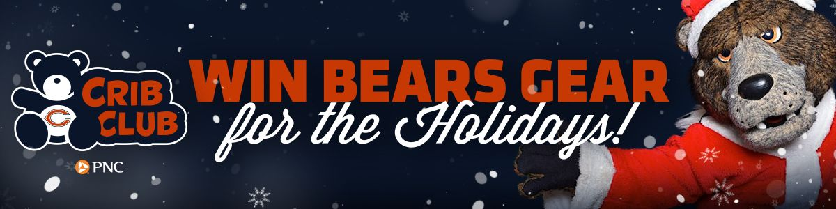 WIN BEARS GEAR FOR THE HOLIDAYS