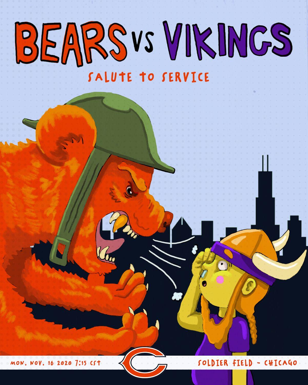Week 10 - Bears vs. Vikings