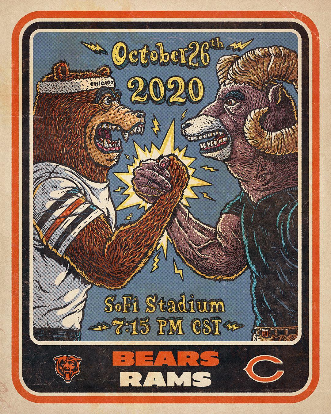 Week 7 - Bears at Rams