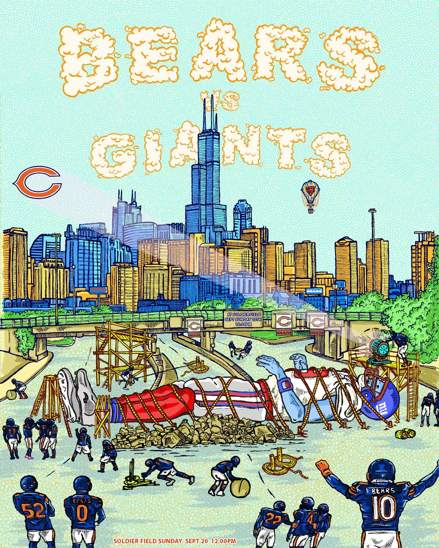 Week 2 - Bears vs. Giants