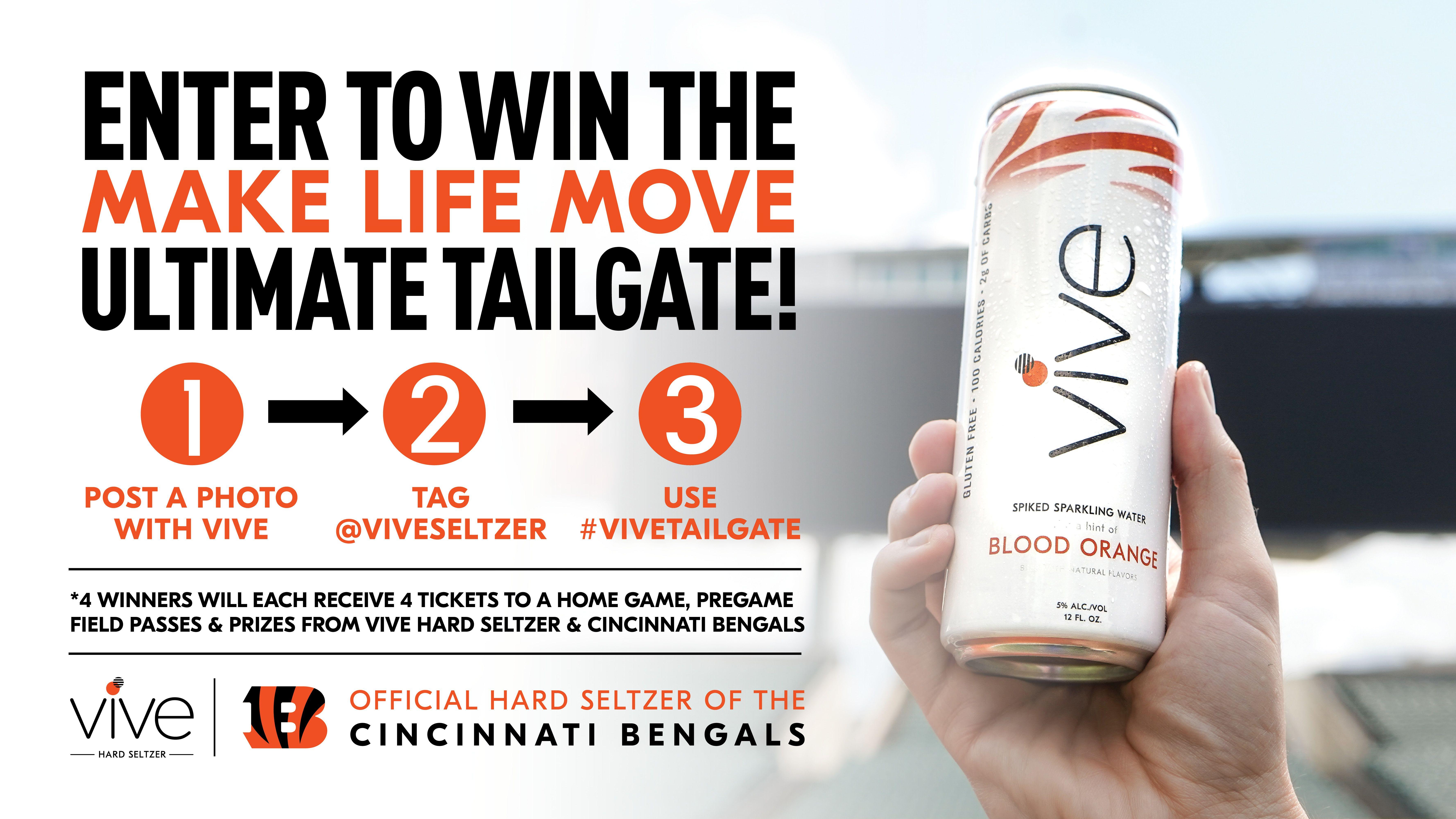 VIVE's Make Life Move Tailgate Sweepstakes