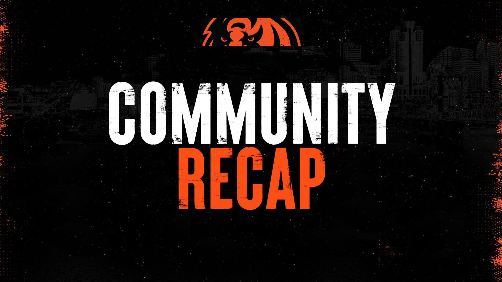 Community Recap