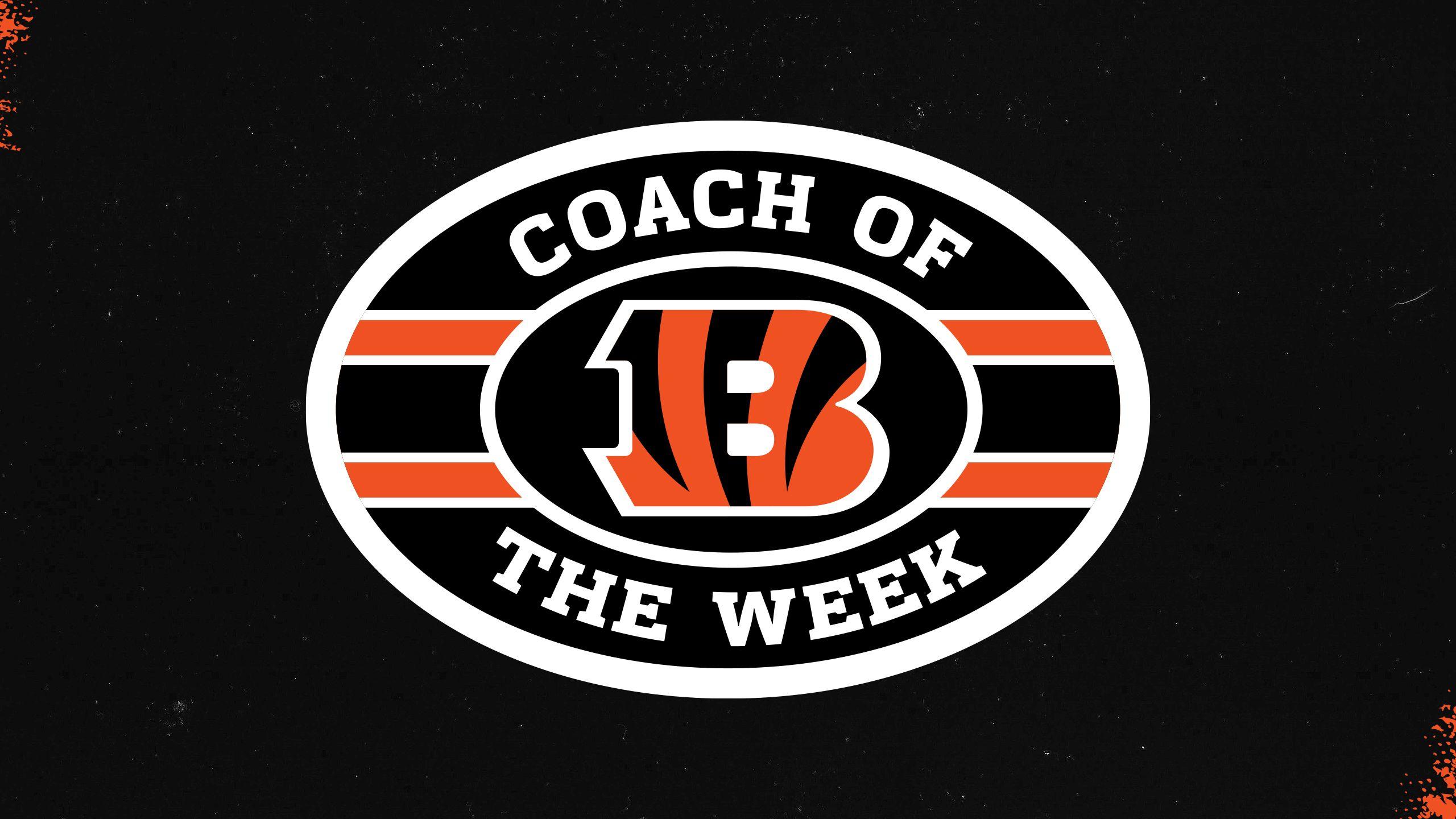 Cincinnati Bengals Coach of the Week