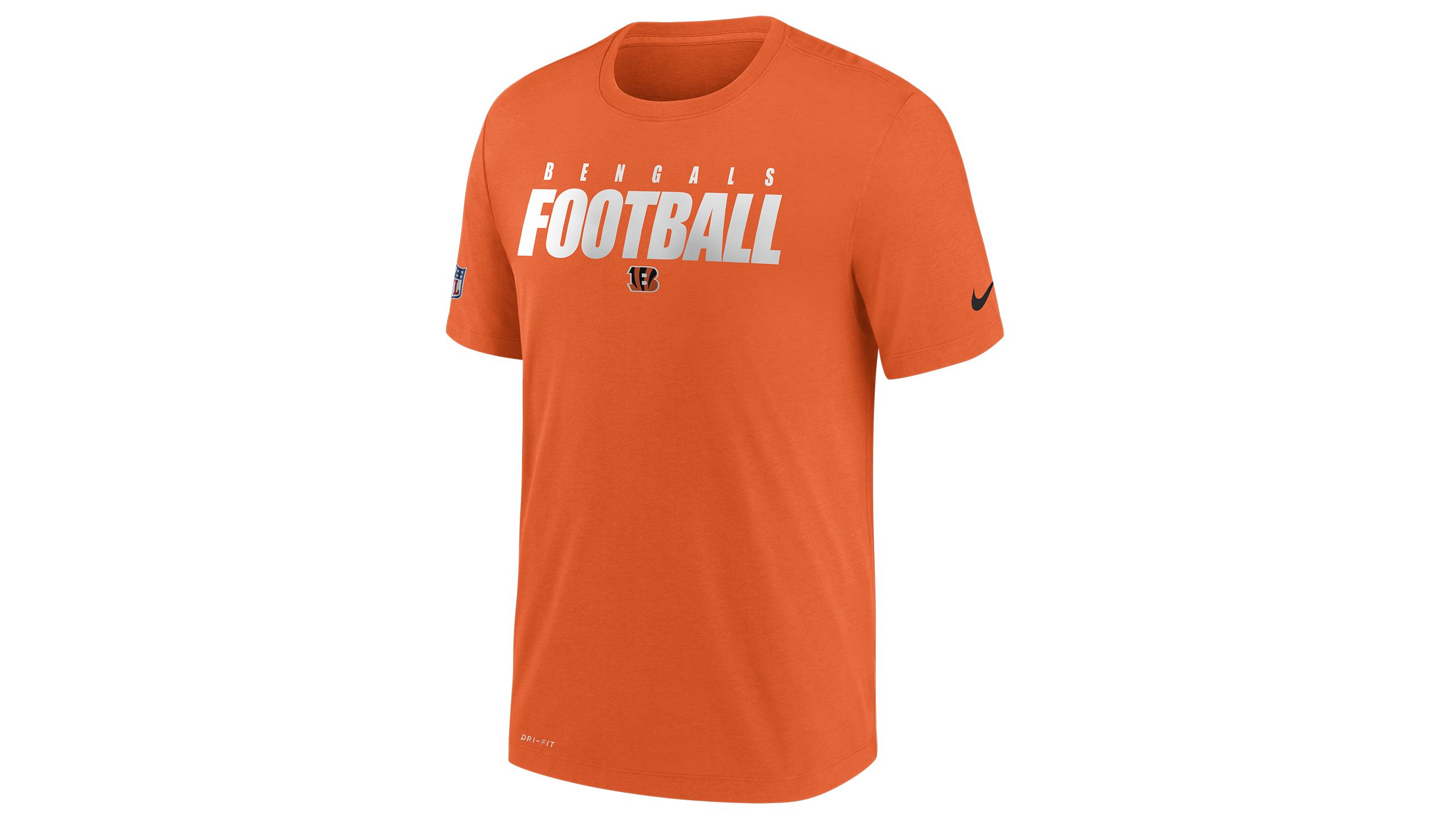 Nike Football Tee Orange