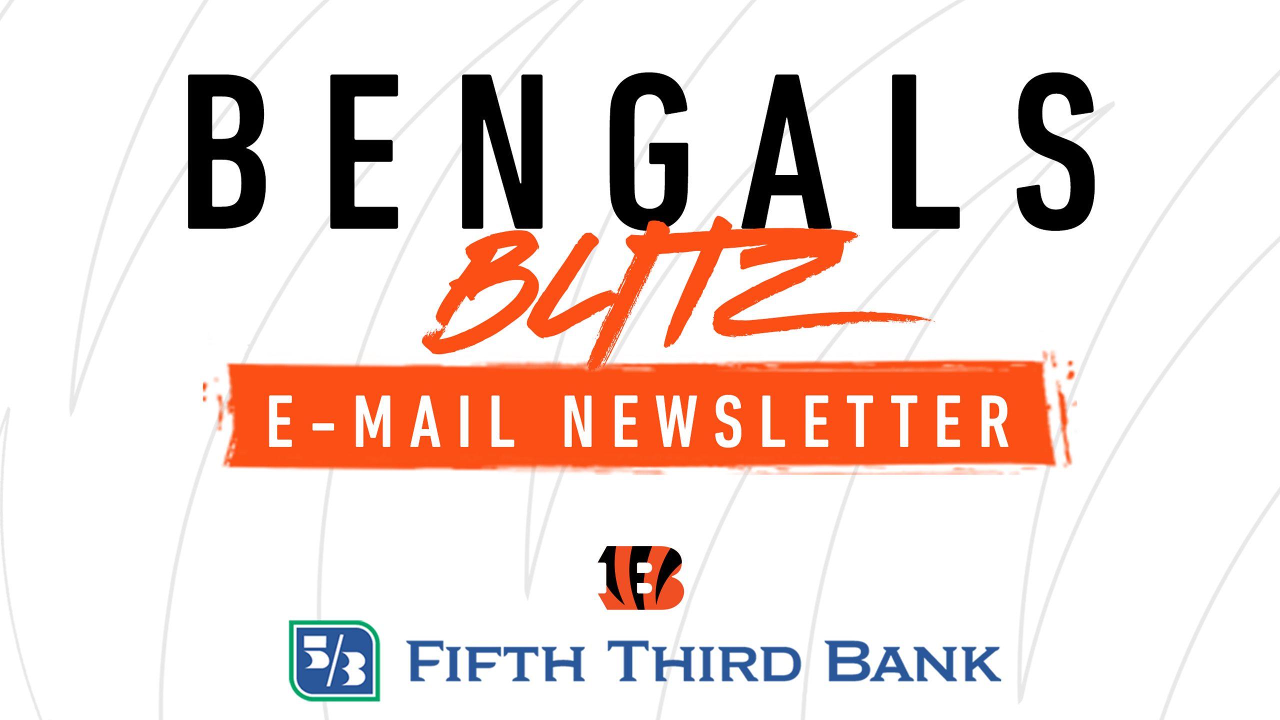Bengals Blitz E-Newsletter