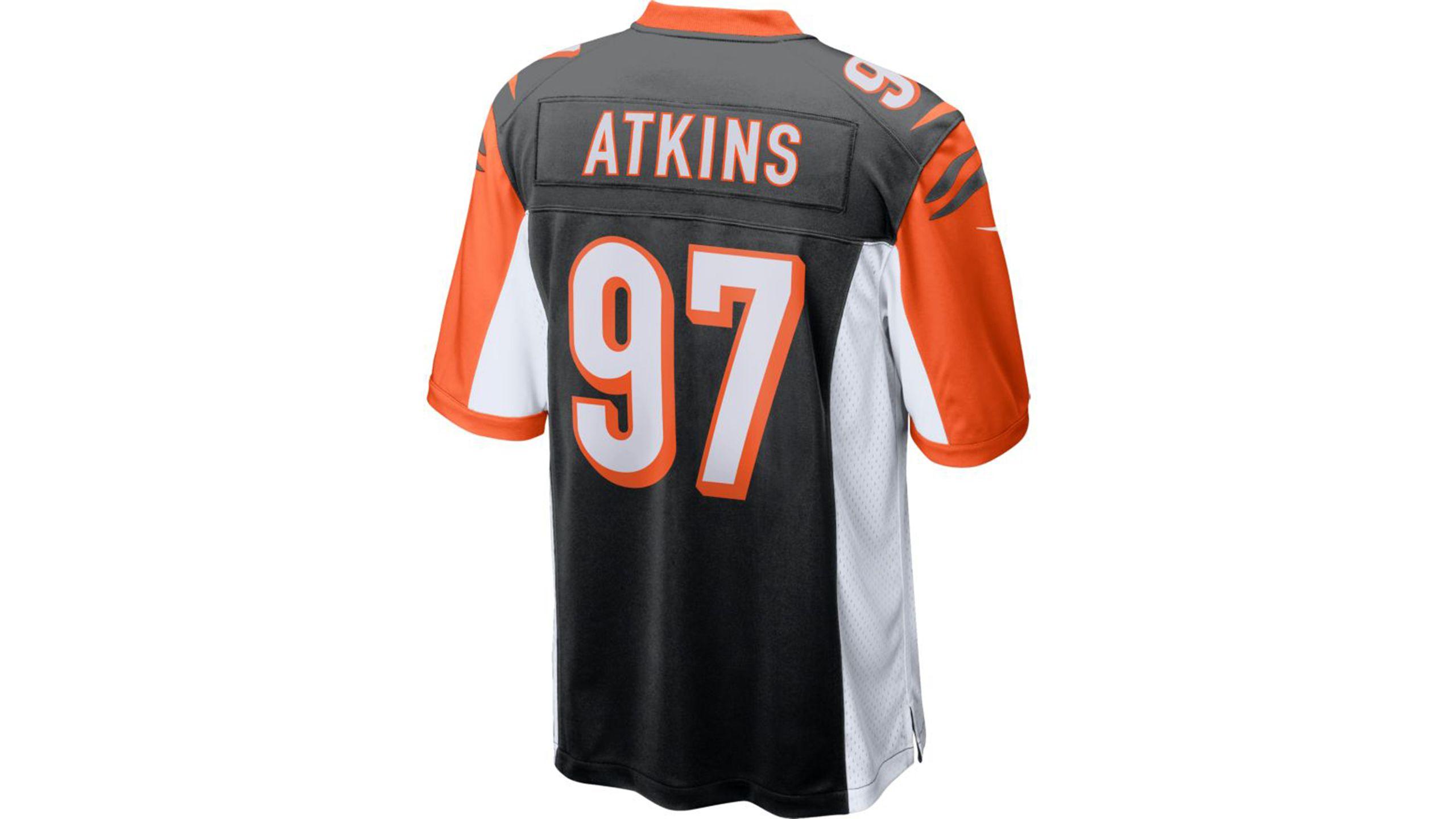 Geno Atkins Game Jersey
