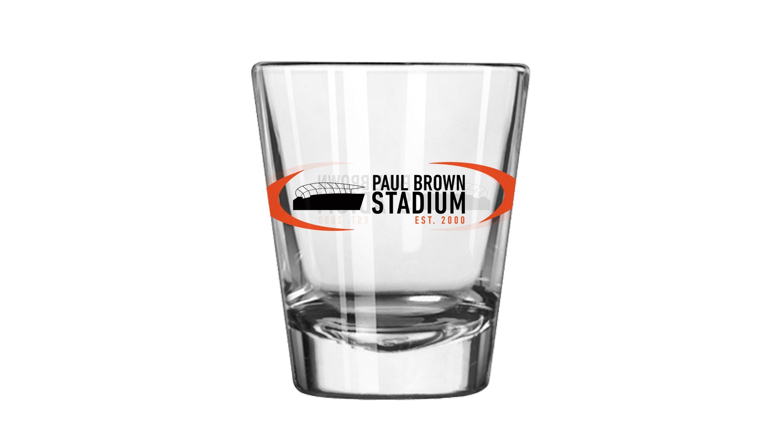 Paul Brown Stadium Shot Glass