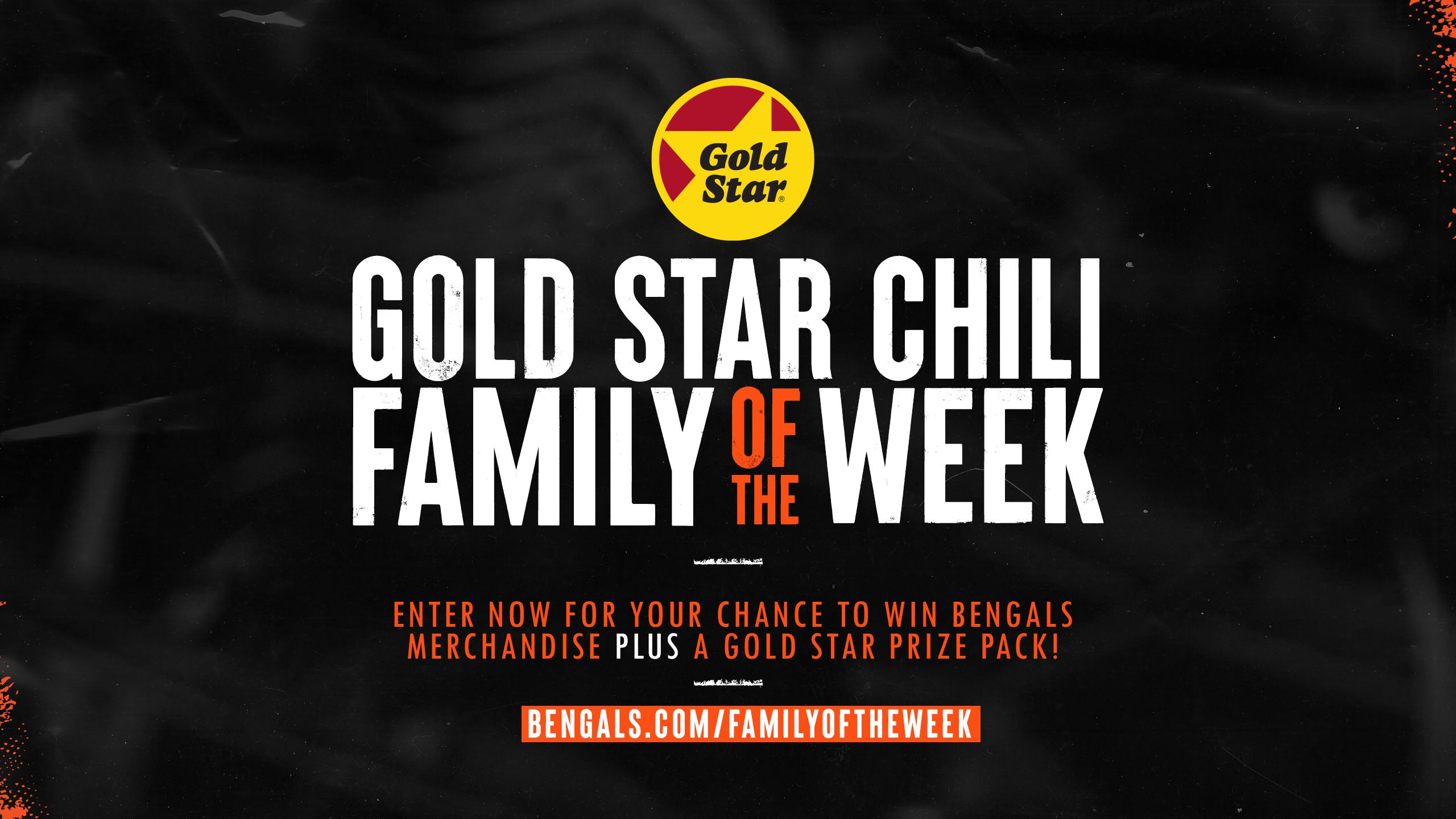 Gold Star Chili Family of the Week