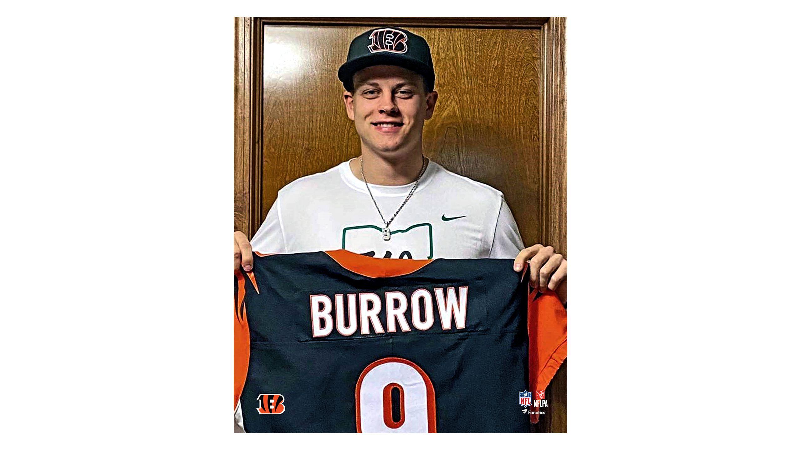 Burrow Draft Photo