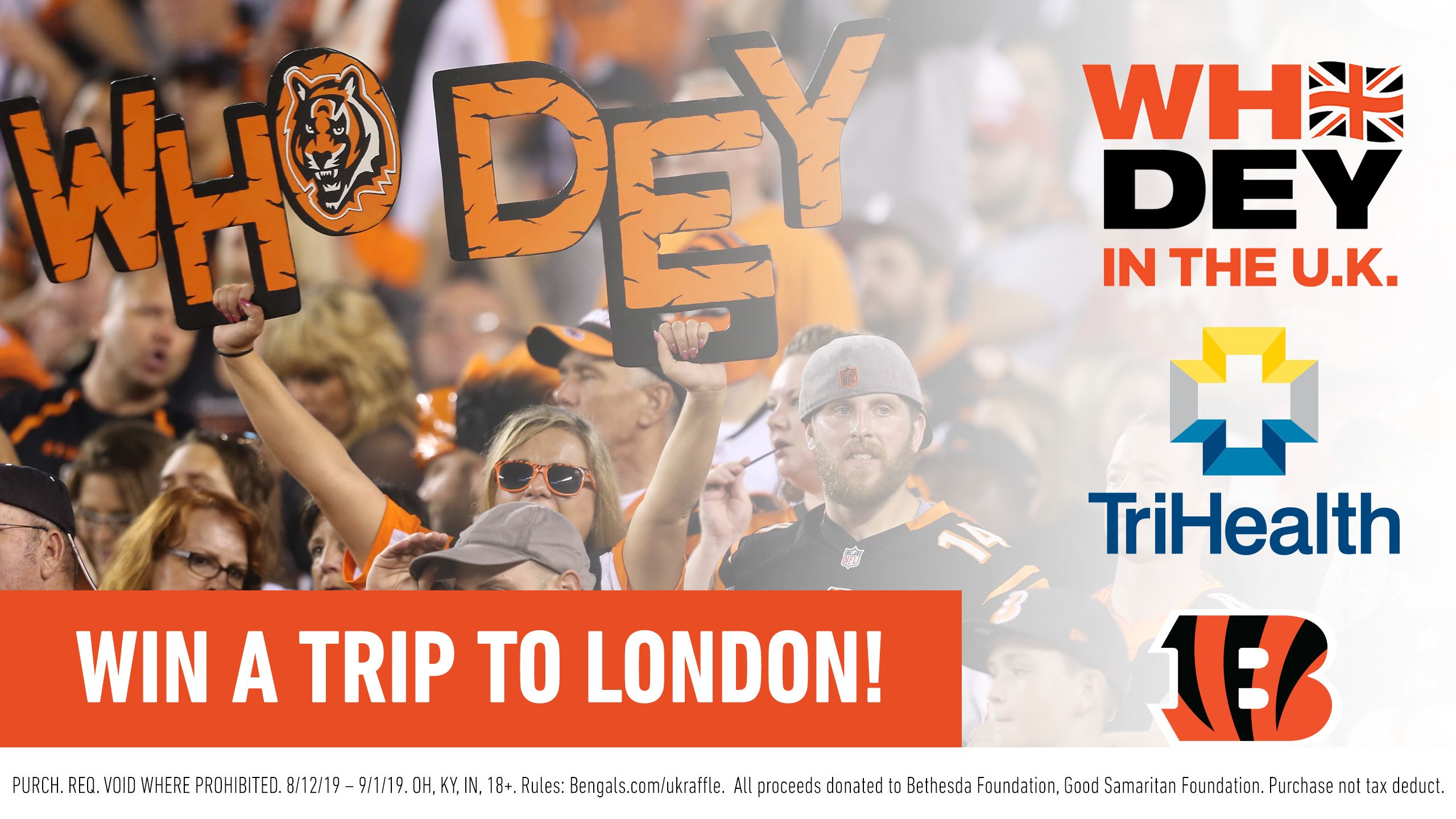 Who Dey In The UK