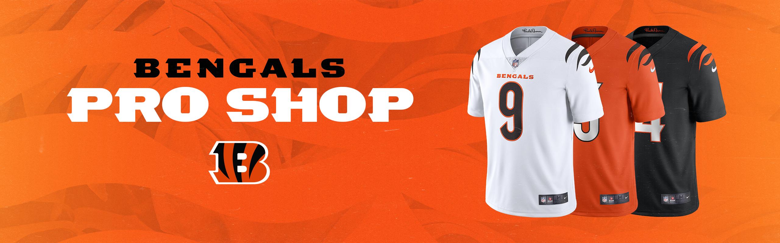 Cincinnati Bengals Pro Shop | Paul Brown Stadium - Bengals.com