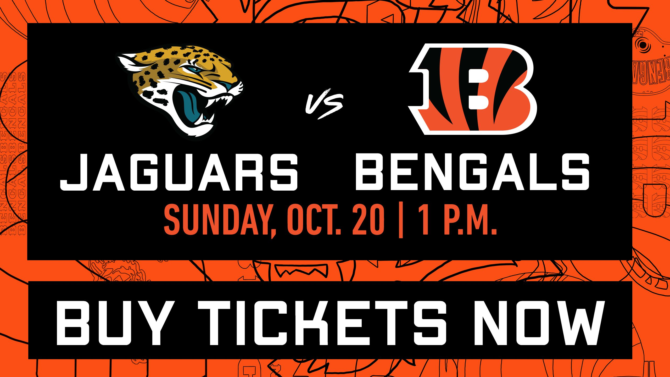 Jaguars at Bengals