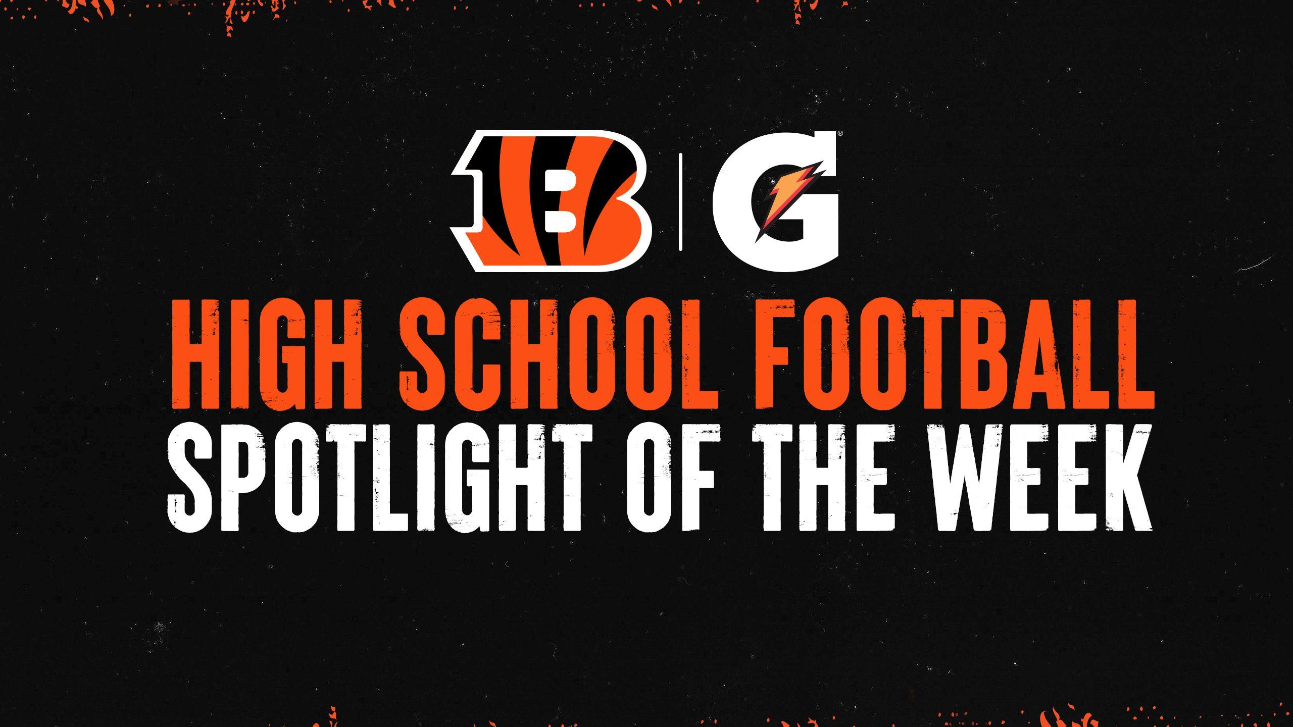 Gatorade High School Football Spotlight of the Week