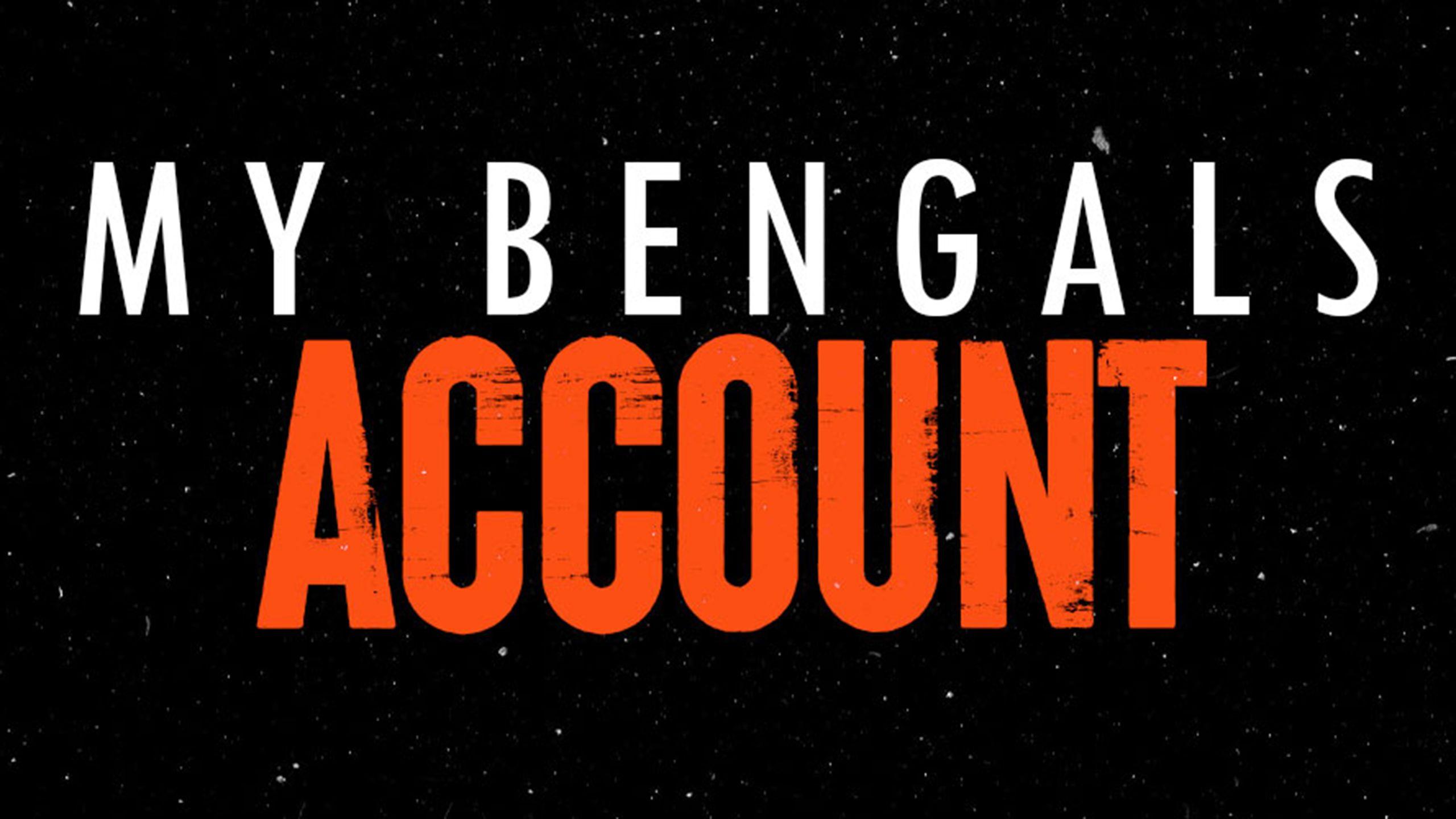 My Bengals Account