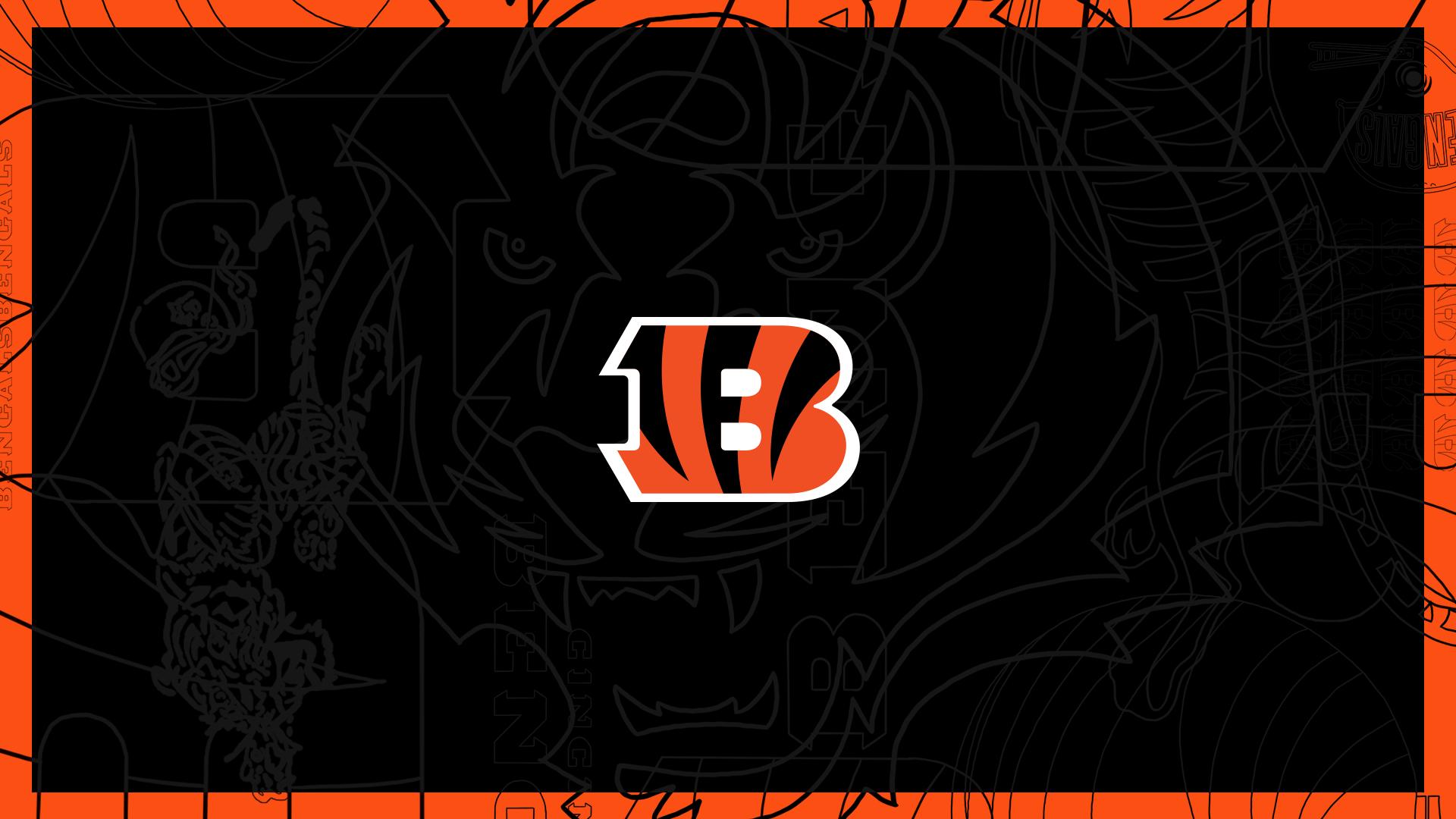 Bengals Logo Outline