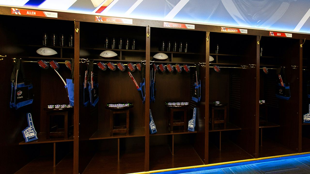 Game Day Locker Room
