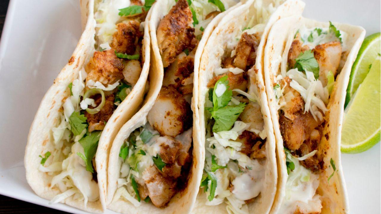 Squish the Fish Taco