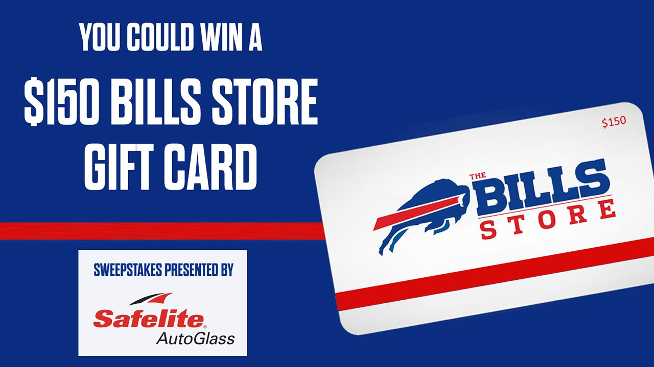 You could win a $150 Bills Store Gift Card!