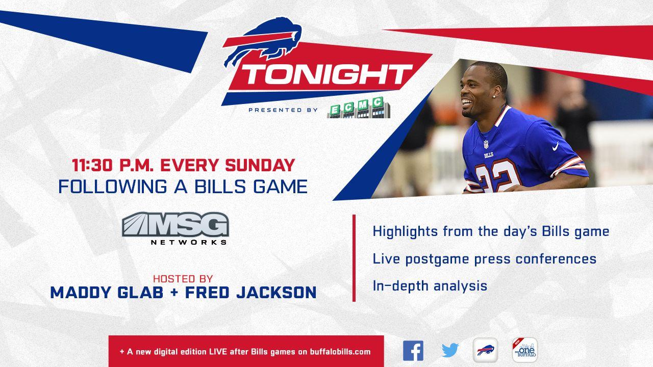 Bills Tonight on TV