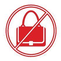 No Bag Policy: