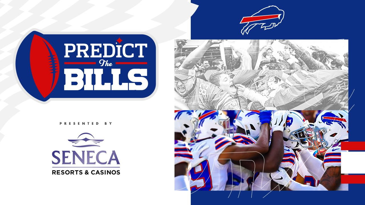 Predict the Bills, presented by Seneca Resorts & Casinos