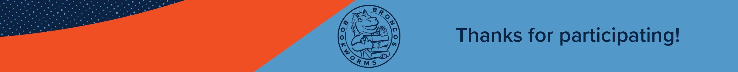 BRONCOS BOOKWORMS