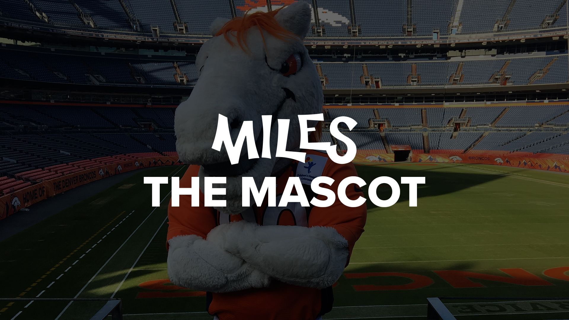 Request Miles the Mascot