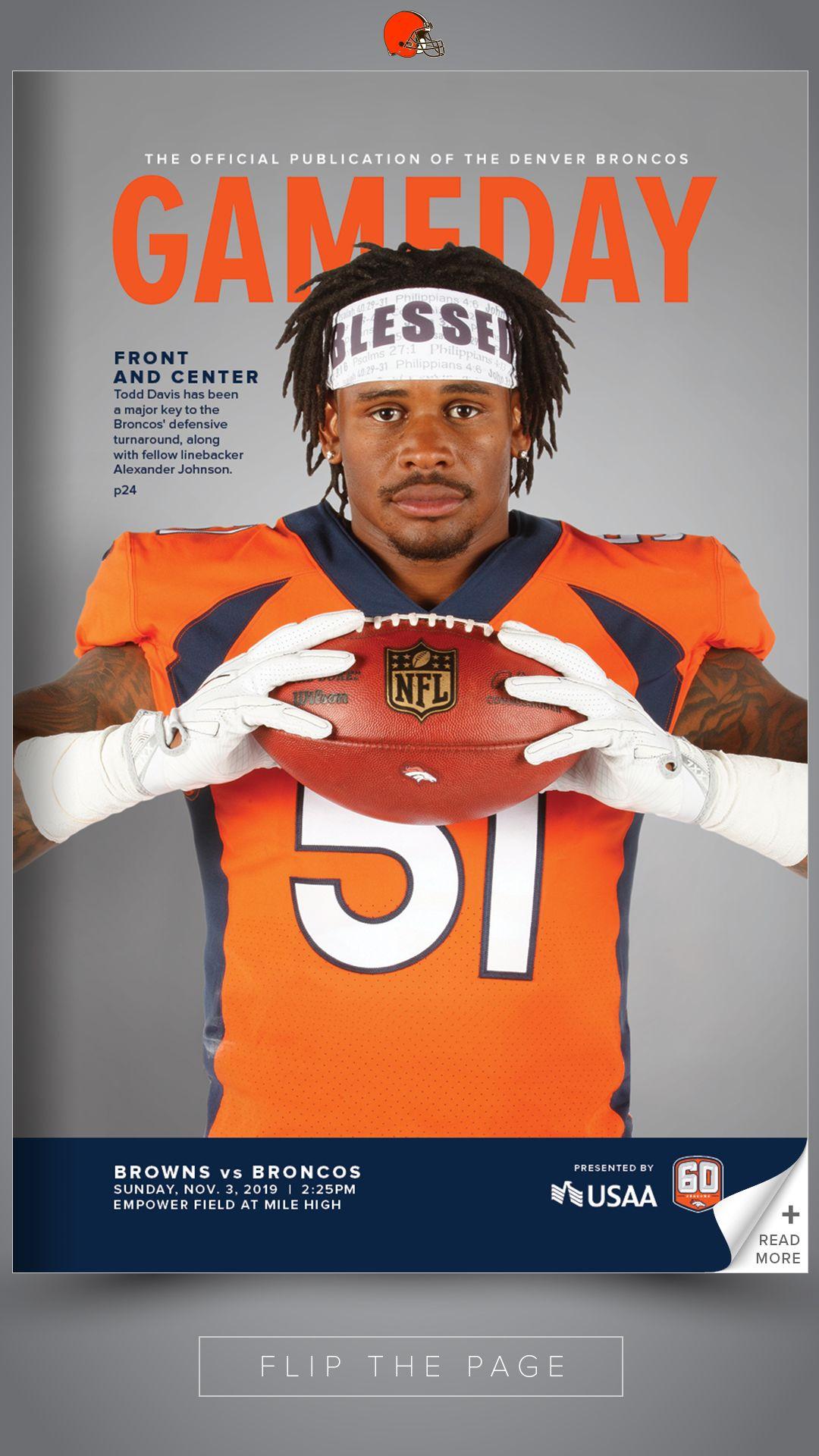 2019: Cleveland Browns vs. Denver Broncos