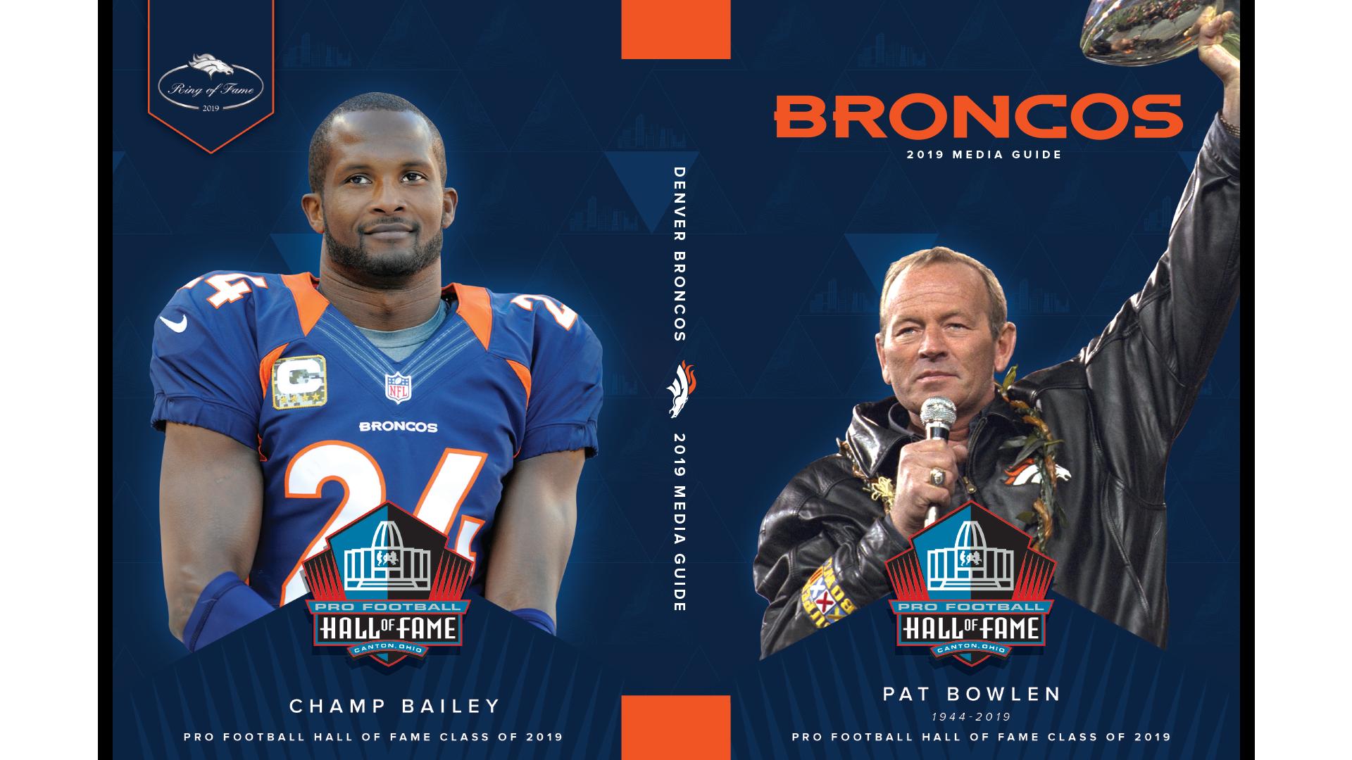 Complete 2019 Denver Broncos Media Guide