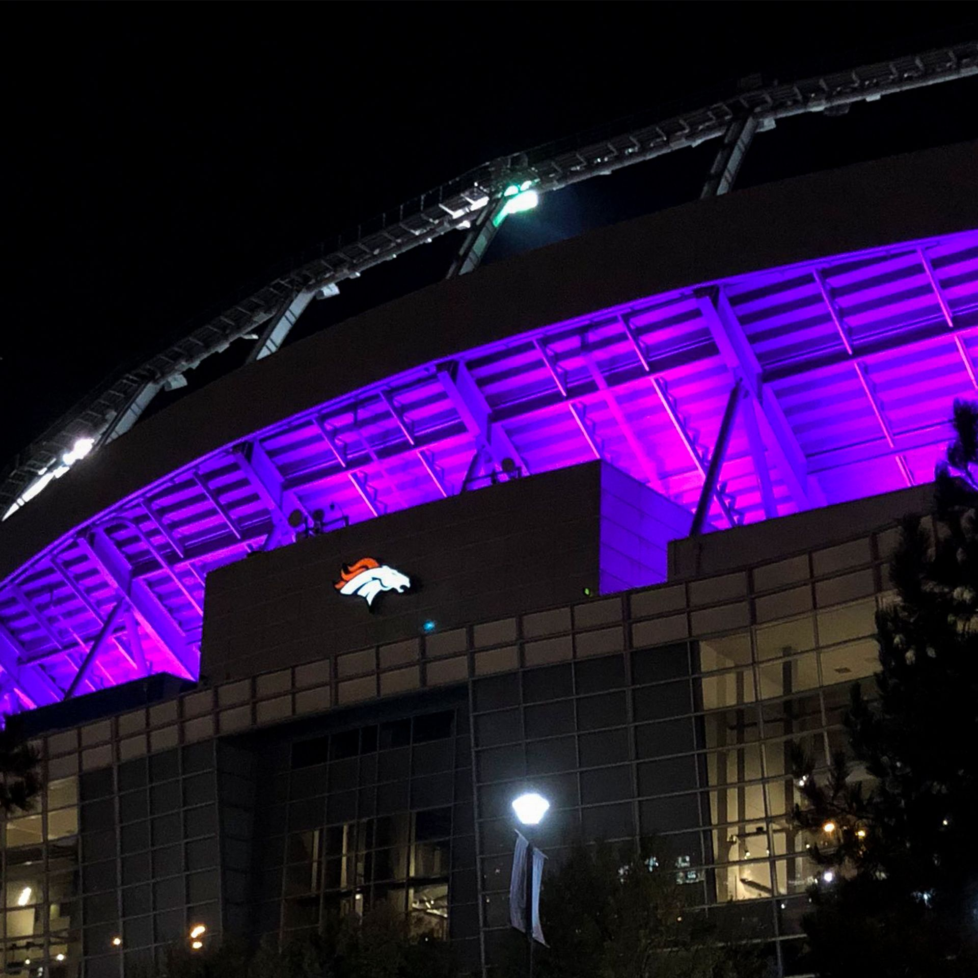 Empower Field at Mile High Lighting Request