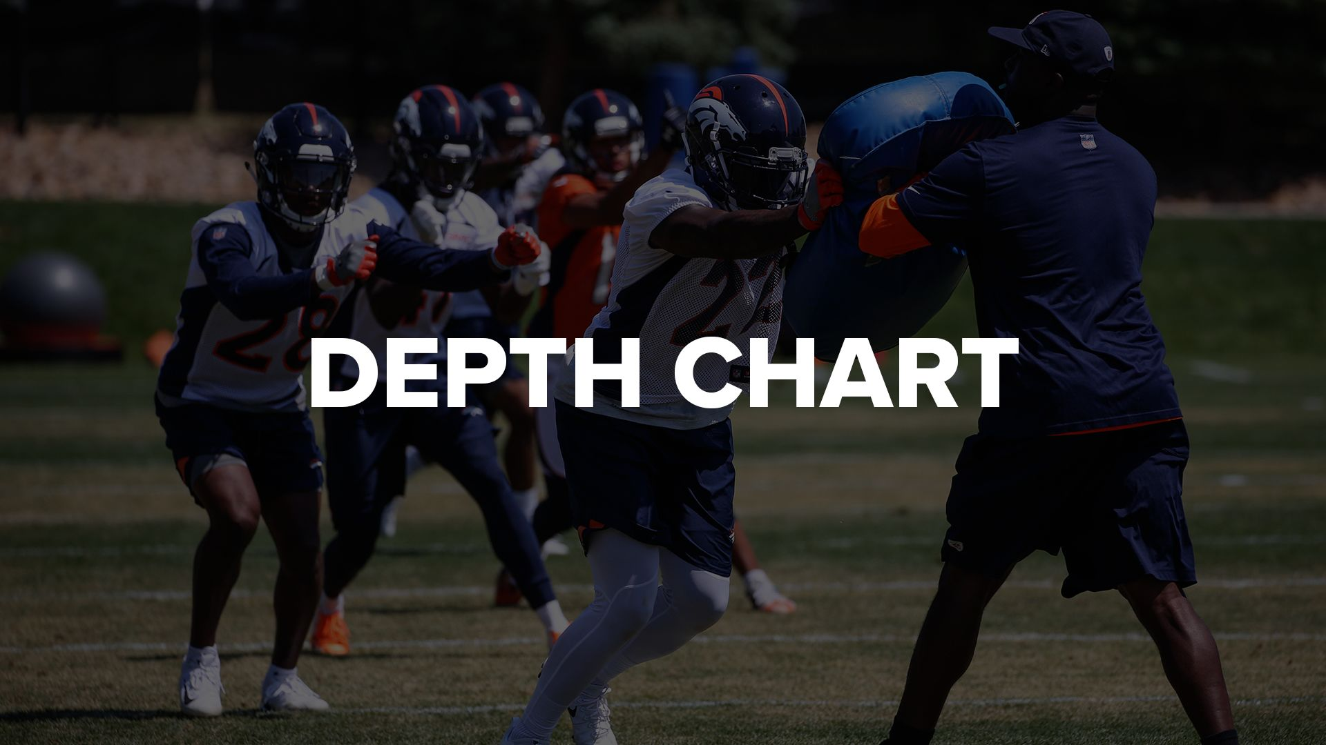 Depth chart is unavailable during the offseason