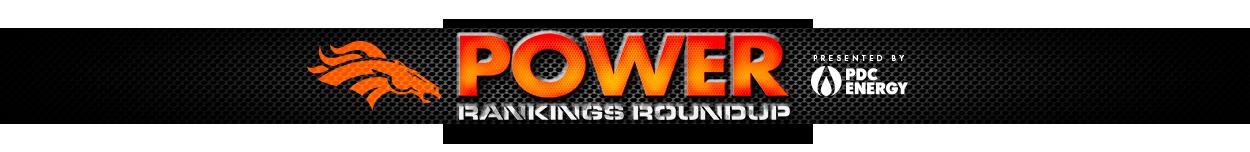 Power Rankings Roundup
