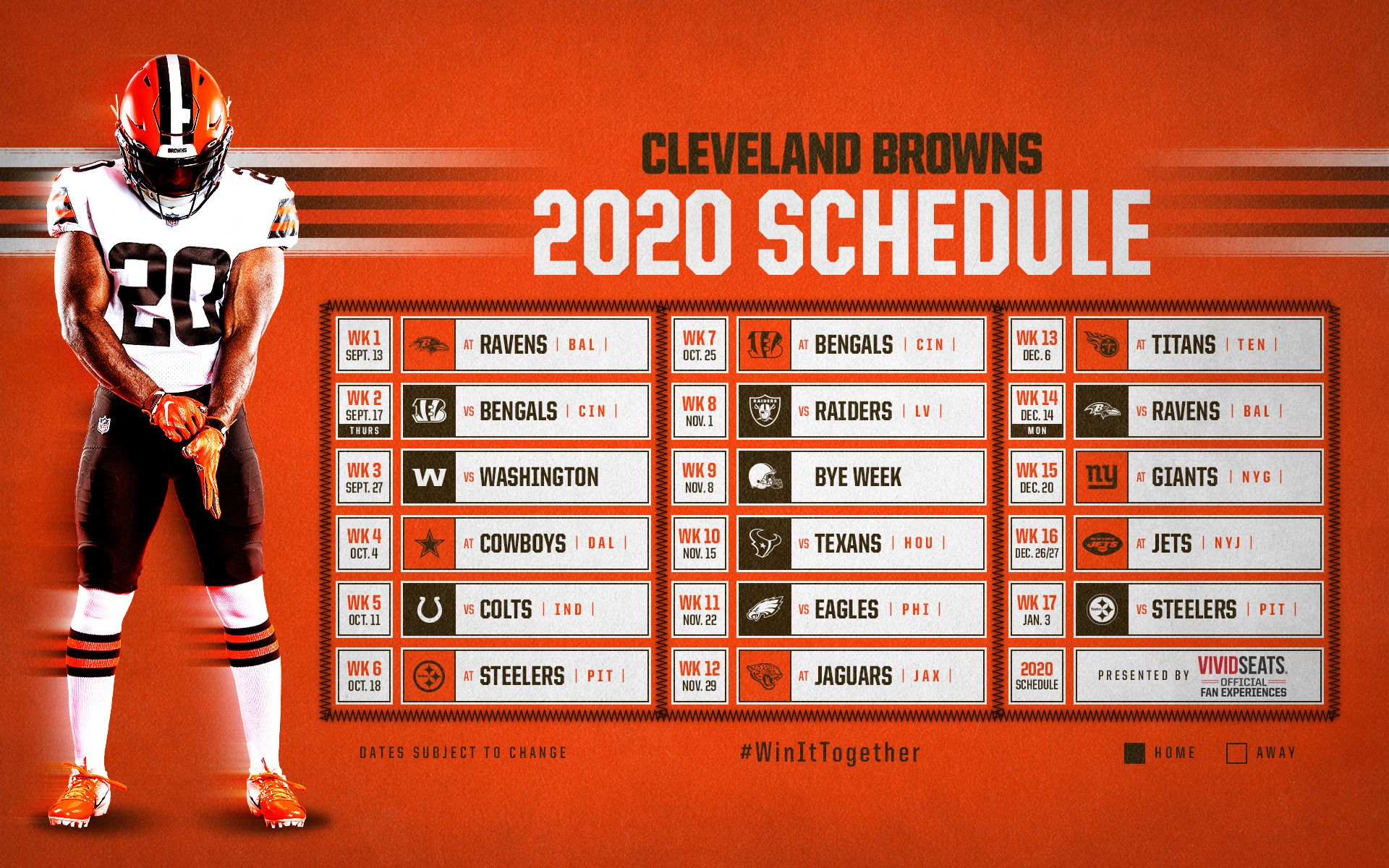Browns Schedule Downloads Cleveland Browns Clevelandbrowns Com