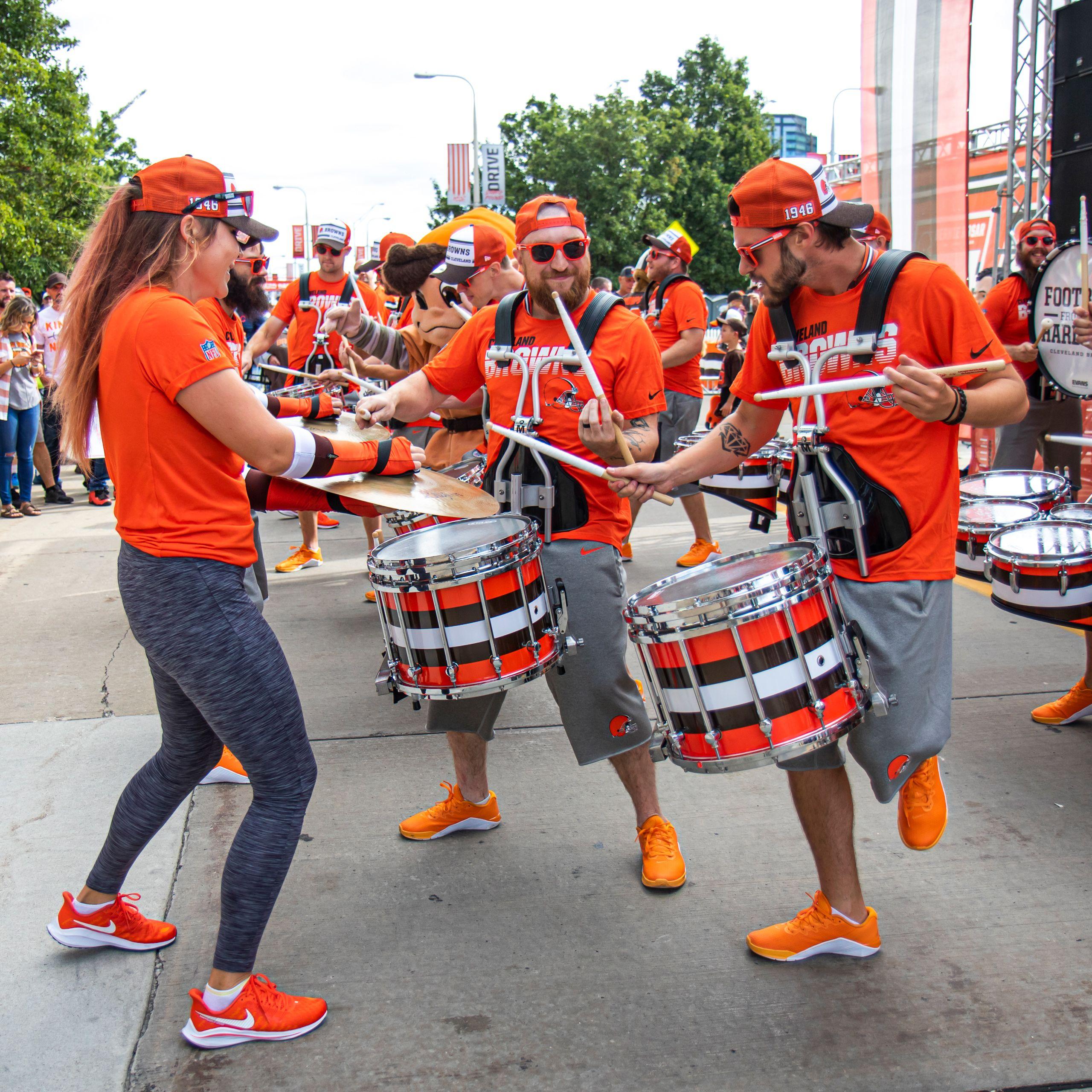 Cleveland Browns Drumline