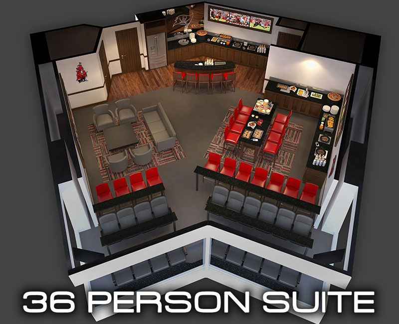 36 person suite