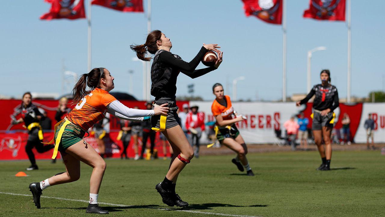 Girls High School Flag Football Preseason Classic