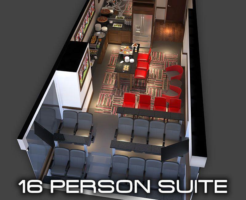16 person suite