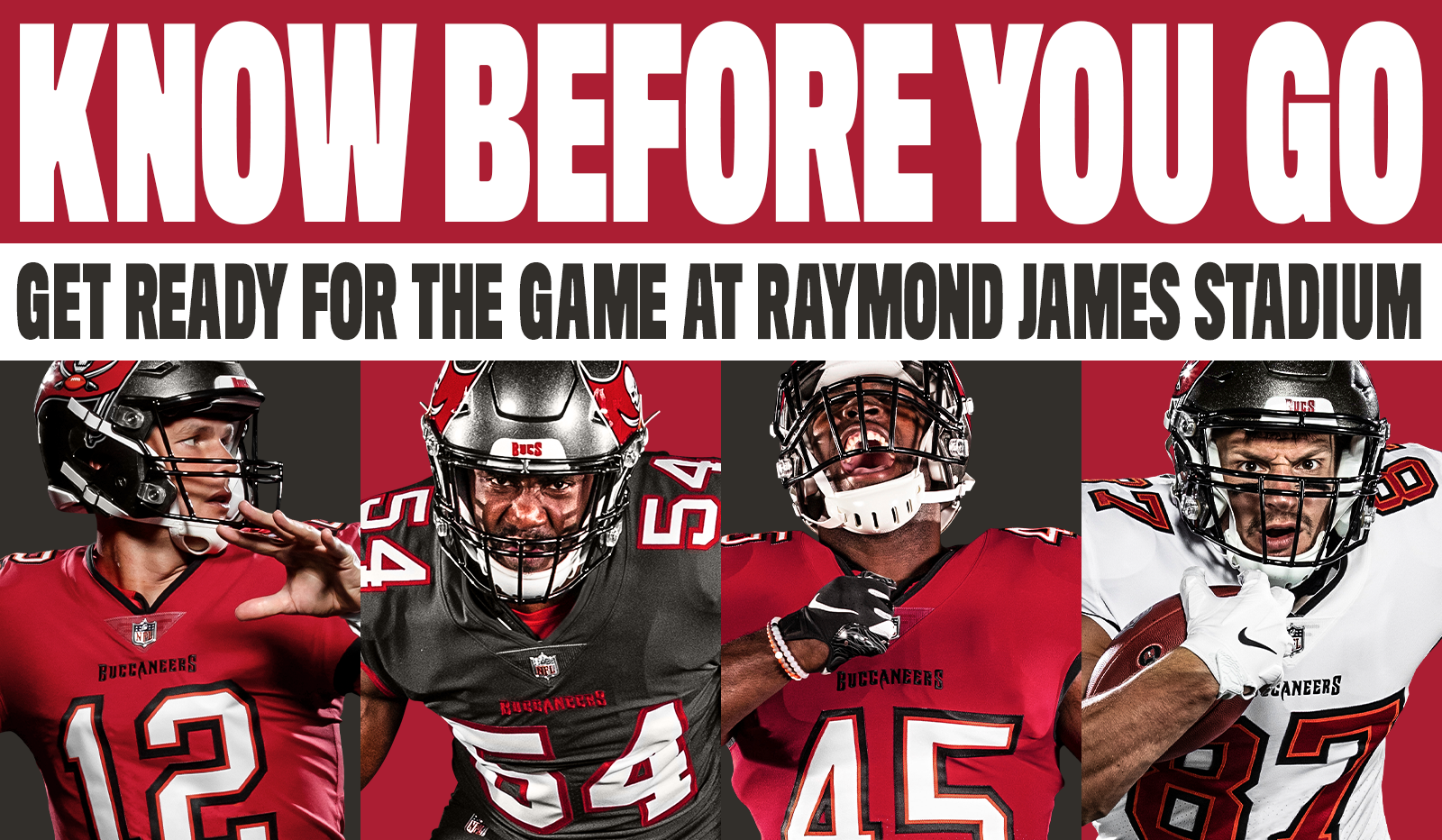 Know before you go - get ready for the game at raymond james stadium