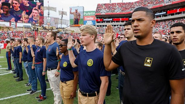 Salute to Service Game