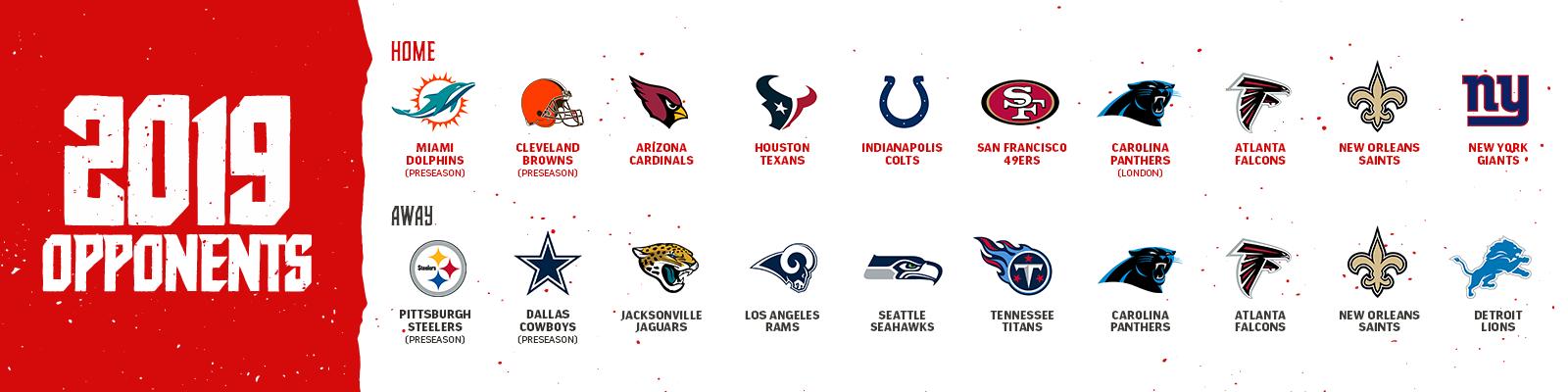 Opponents Schedule-2019