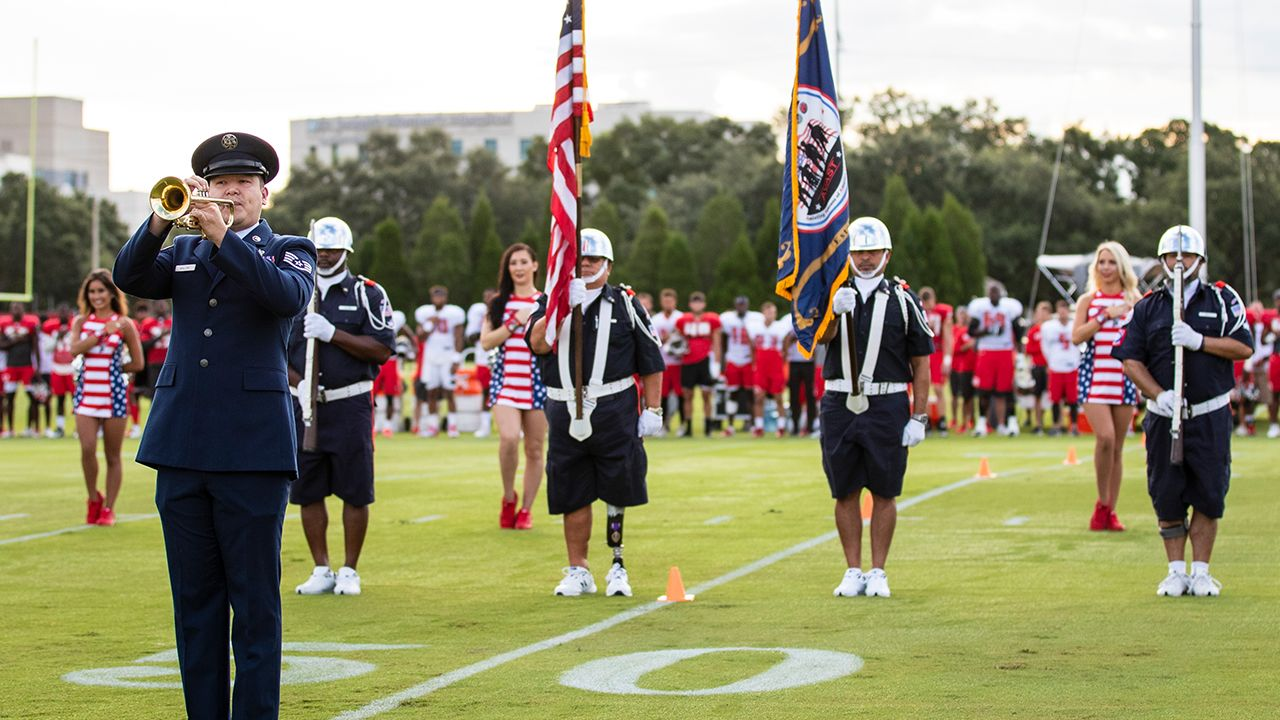 Military Day at Training Camp