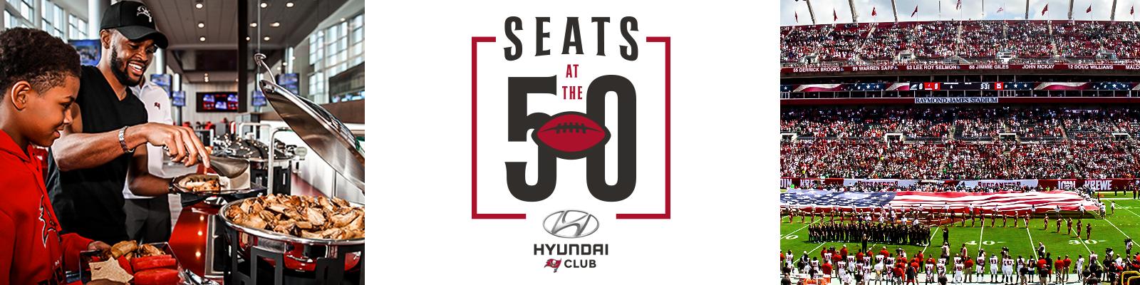 Seats at the 50