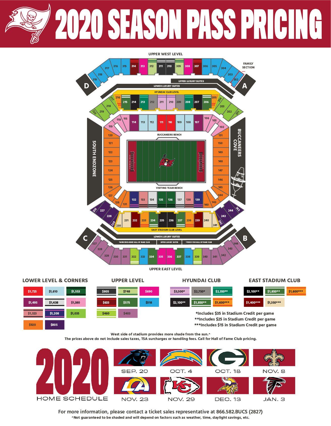 Season Pass Map