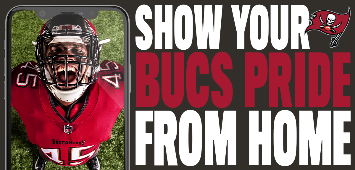 Show your bucs pride from home