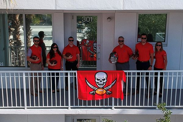 Southwest Florida football fans, we will continue to offer roundtrip bus transportation for all Tampa Bay Buccaneers regular season home games for 2020.  Travel from Sarasota and Bradenton to Raymond James Stadium and back in comfort. Travel conveniently and comfortably in a luxury coach equipped with lavatory, individual reclining seats and spacious overhead compartments