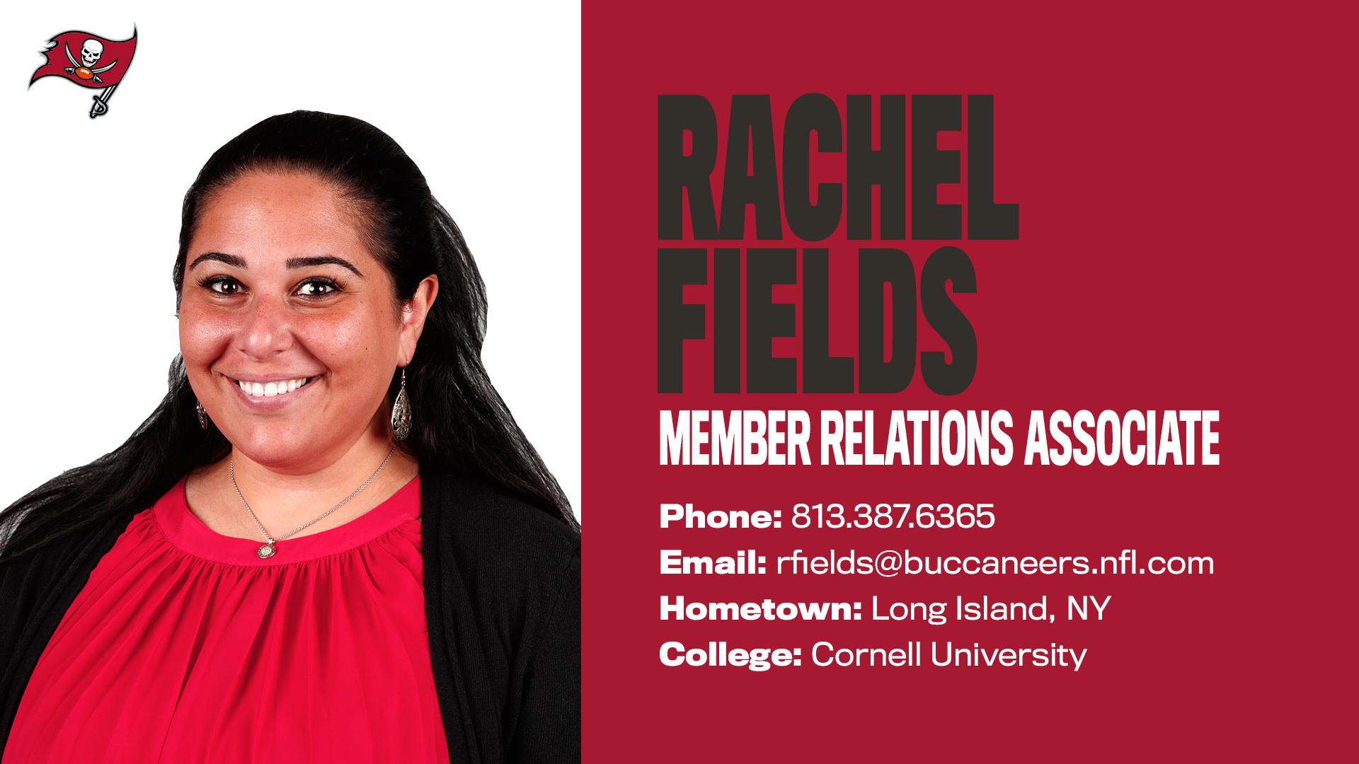 Rachel Fields