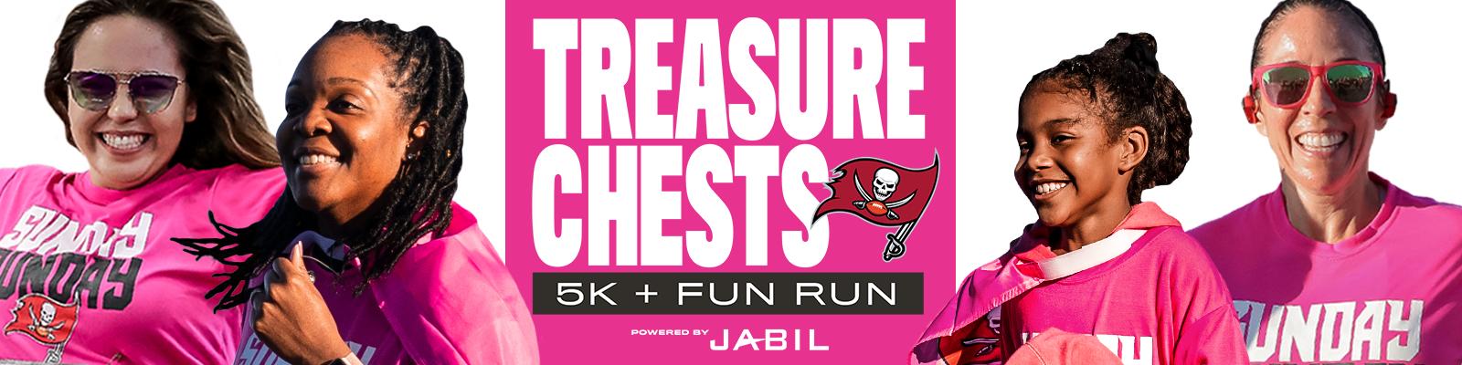 Treasure Chests 5K + Fun Run powered by Jabil