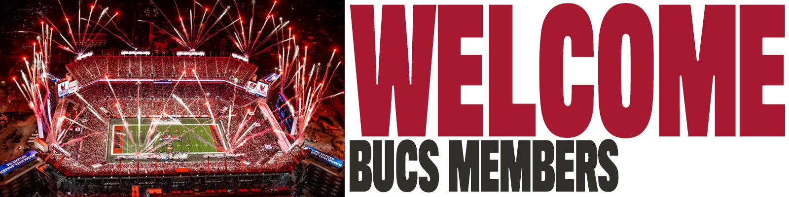 Welcome Bucs Members