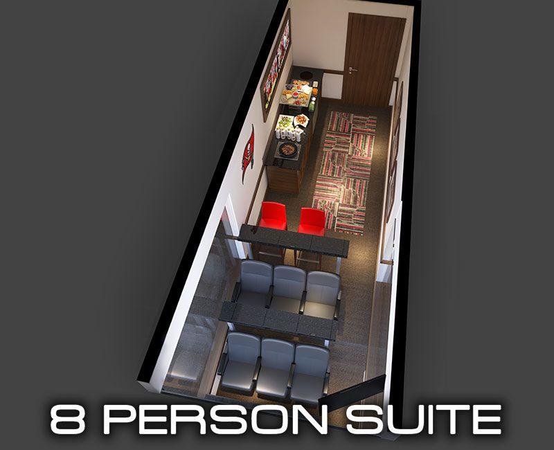 8 person suite